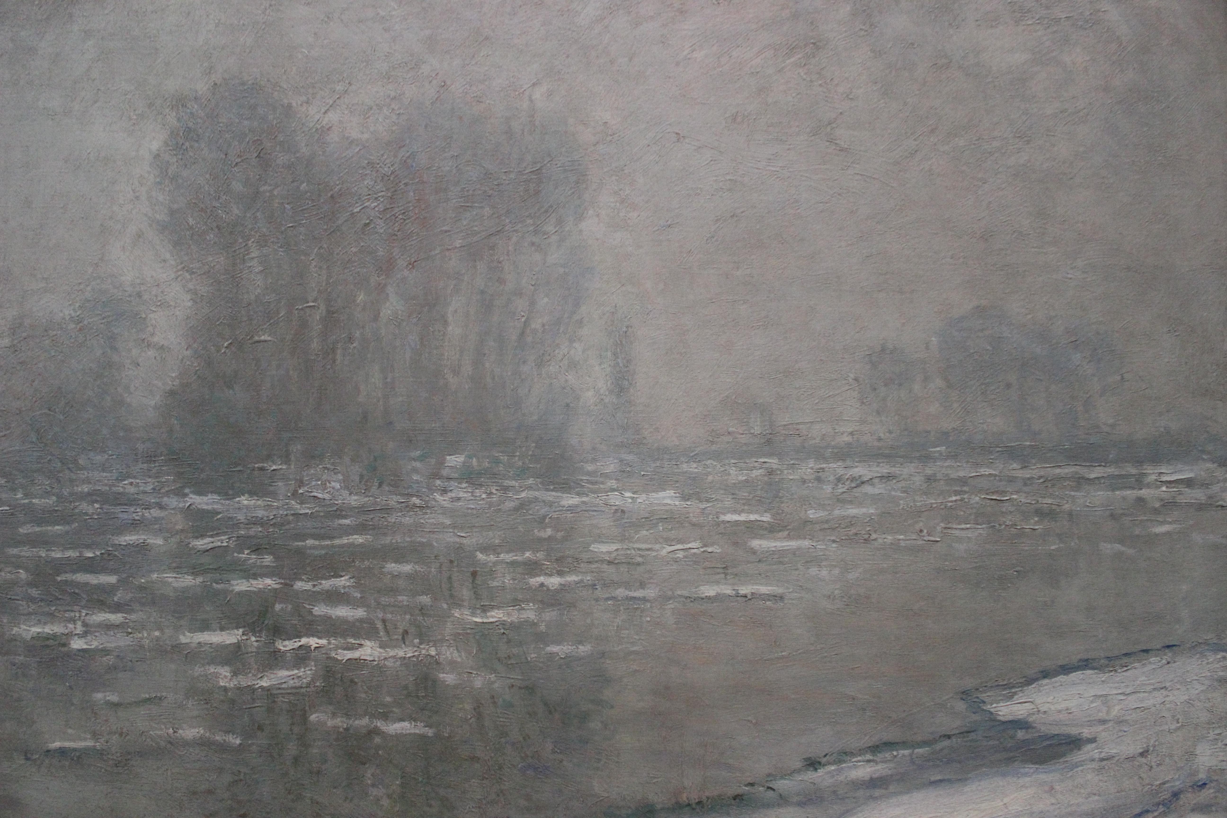 Monet's *Matin brumeux, débâcle*